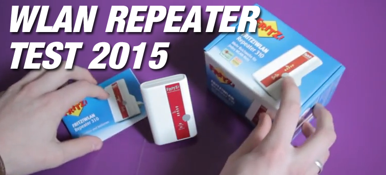 WLAN Repeater Test 2015
